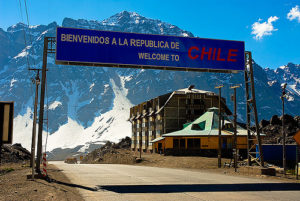 The Chile-Argentina Border