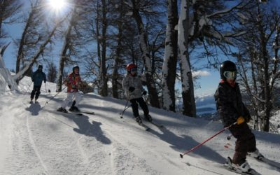 Skiing At The Cerro Catedral
