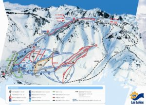 Las Leñas ski trail map (click)