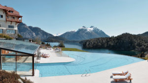 A spa resort in Bariloche.