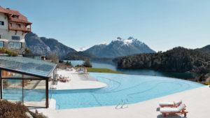 A spa resort in Bariloche.