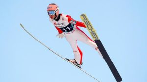 Ski Jumping is a game in the Winter Olympics.