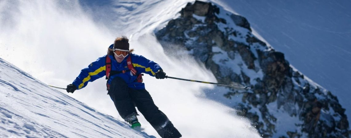 Skiing In Ushuaia